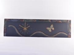 butterfly-theme-on-slate-clock-1