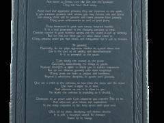 desiderata-on-slate-plaque