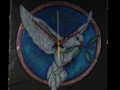 amnesty international commissioned clock