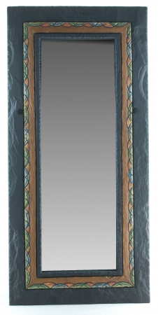 celtic border rectangular mirror