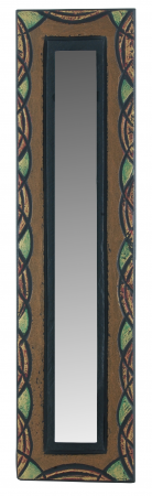 Celtic Small Mirror with Green Celtic Edge