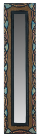 Celtic Small Mirror with Blue Celtic Edge