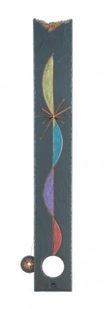 Cascade Slate Pendulum Clock