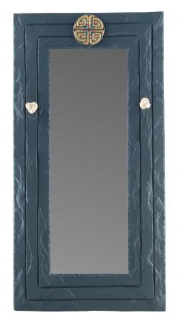 Slate Mirror Celtic Black