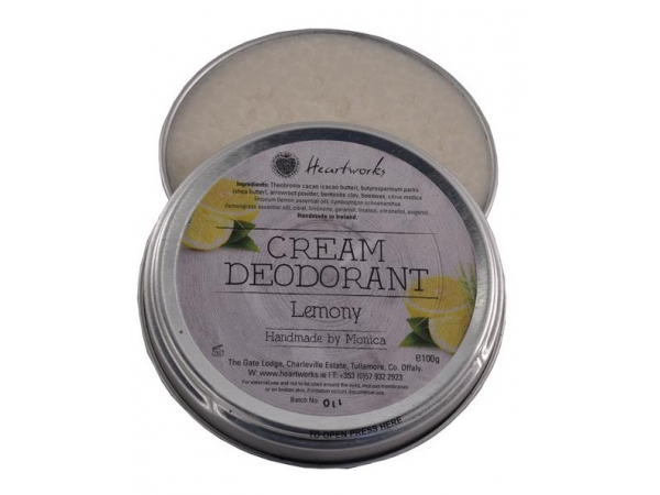 "Cream Deodorant ""Tea Tree & Lemon"""