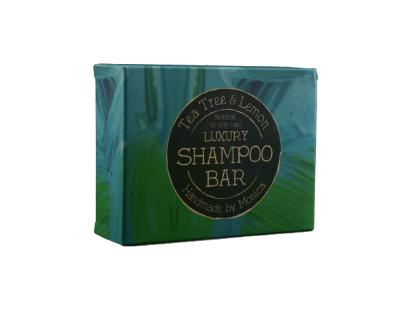 Handmade Natural Shampoo Bar Tea Tree and Lemon