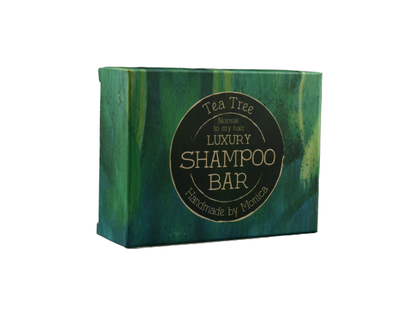 Handmade Natural Shampoo Bar with Tea Tree