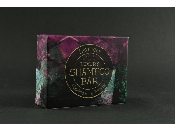 Handmade Natural Shampoo Bar Lavender