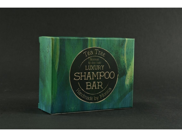 Handmade Natural Shampoo Bar with Tea Tree