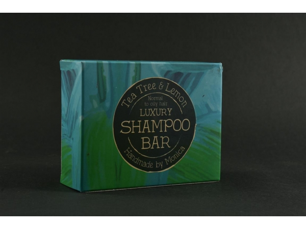 Handmade Natural Shampoo Bar Tea Tree and Lemon