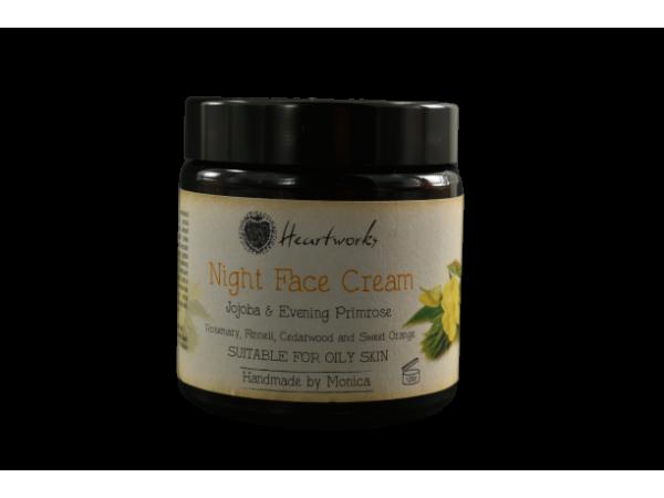 Night Face Cream with Jojoba & Evening Primrose