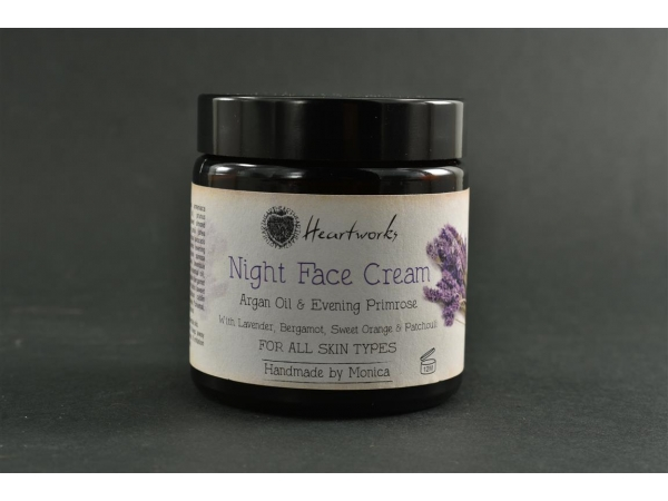 Night Face Cream Argan Oil and Evening Primrose