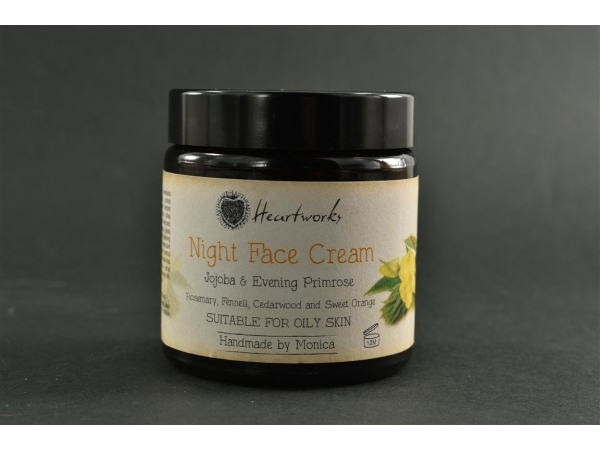 Night Face Cream with Jojoba & Evening Primrose