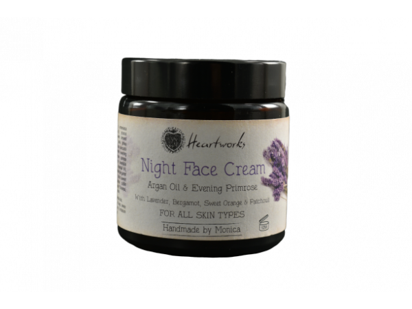 Night Face Cream Argan Oil and Evening Primrose