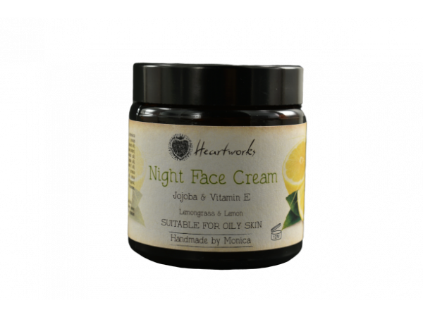Night Face Cream with Jojoba & Vitamin E