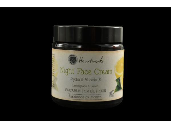Night Face Cream with Jojoba & Vitamin E