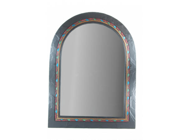 Romanesque Mirror Ornate