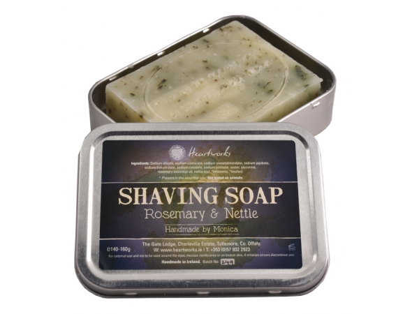 Shaving Soap Rosemary & Nettle