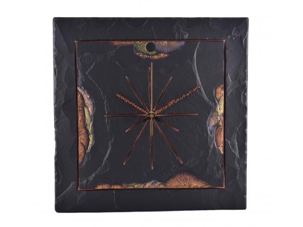 "Square 7½"" Clock Border Gold Edge"