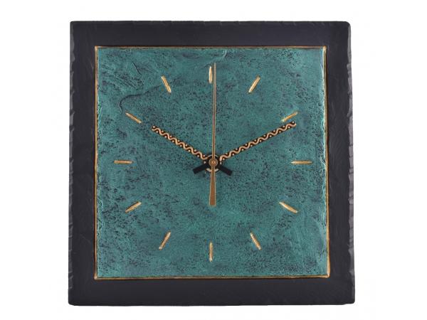 "Slate Clocks 7.5"" Green Inside"