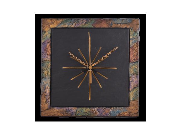 """Square 7½"""" Clock Border Multi Coloured"""