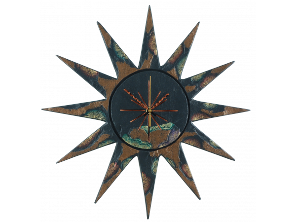sun-clock-gold-green-edge-1