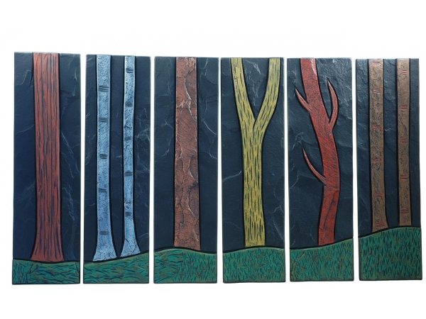 tree-trunks-on-slate