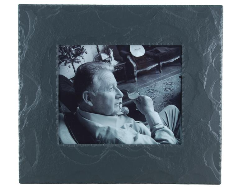 black and white photo frame
