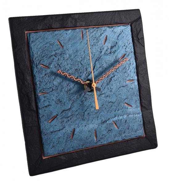 Funky modern slate clock