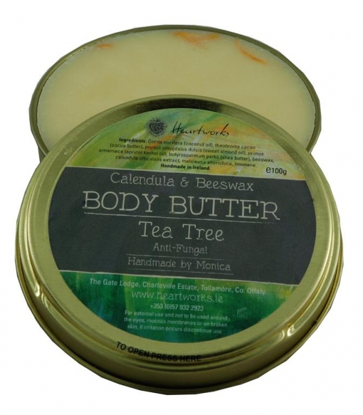 Body Butter with tea tree, calendula and beeswax