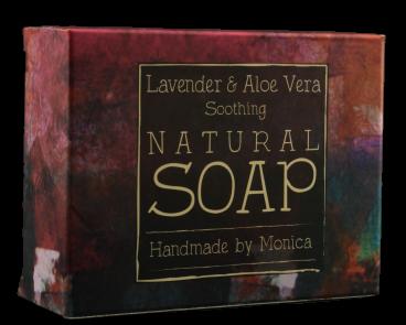 Natural Handmade Soap Lavender n Aloe Vera