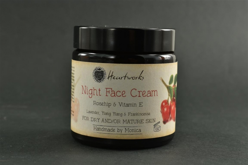night cream for dry mature skin with frankincense