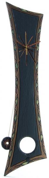 ornate princess pendulum slate clock