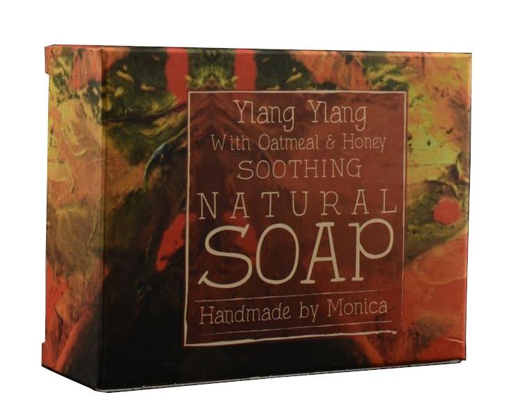 Palm Free Natural Soap Ylang Ylang with Oatmeal and Honey