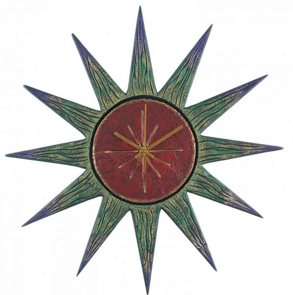 Rays of Sun clock