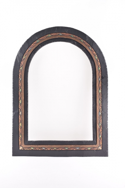 romanesque slate mirror b