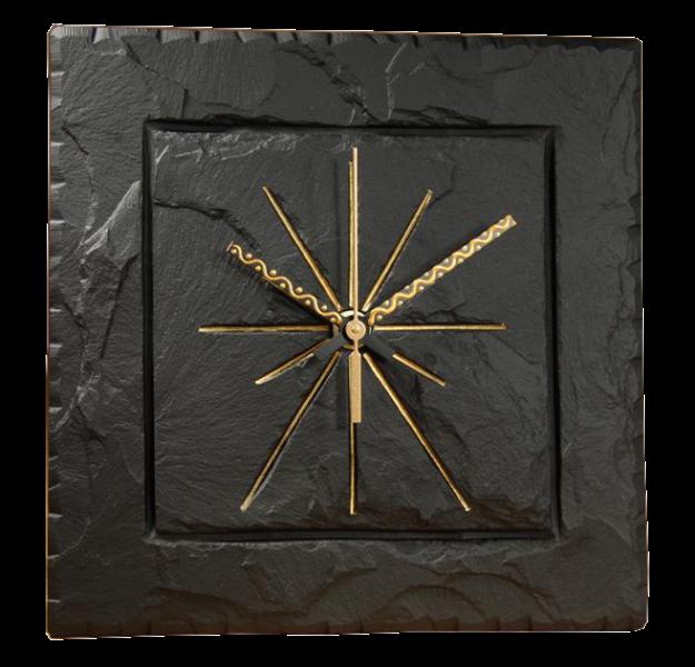 square slate clock