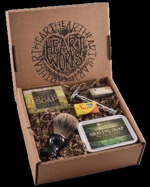 tea tree & lemon shaving gift set deluxe (c)