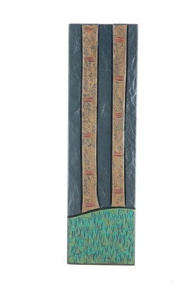 tree trunk f on slate