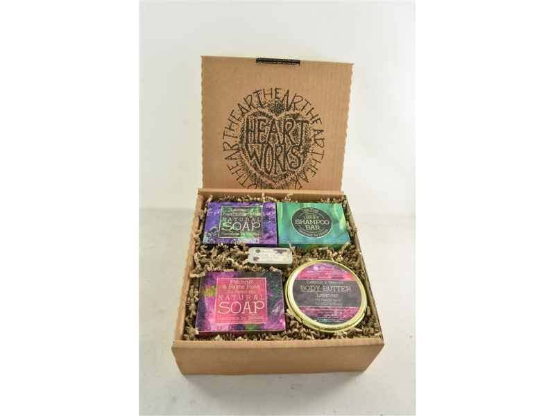 Gift set of Heartworks Skincare