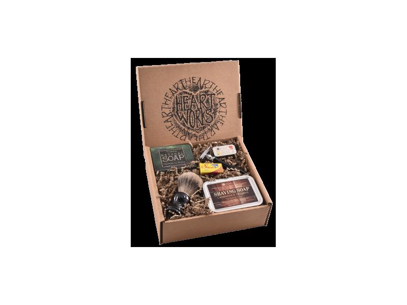 cedarwood shaving gift set