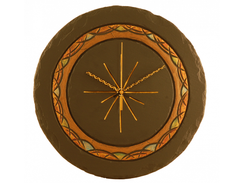 celtic-slate-round-clock