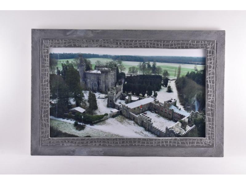 Charleville Castle in a slate photo frame
