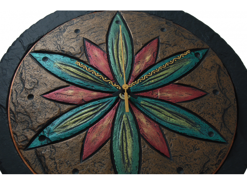 clock-with-flower-1