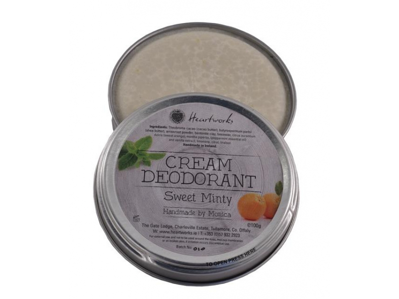 CREAM DEODORANT SWEET MINTY