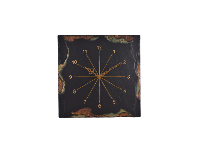 custom made clock.