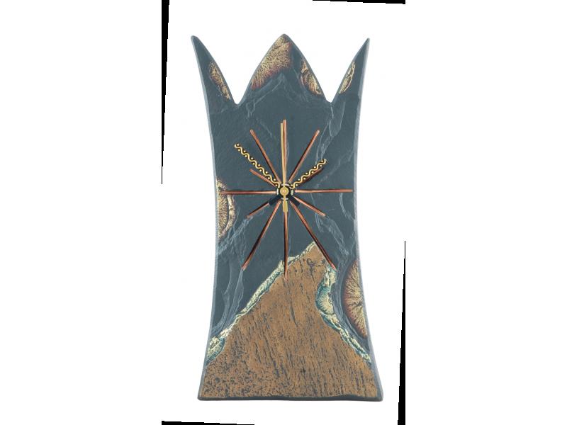 free standing slate regal clock