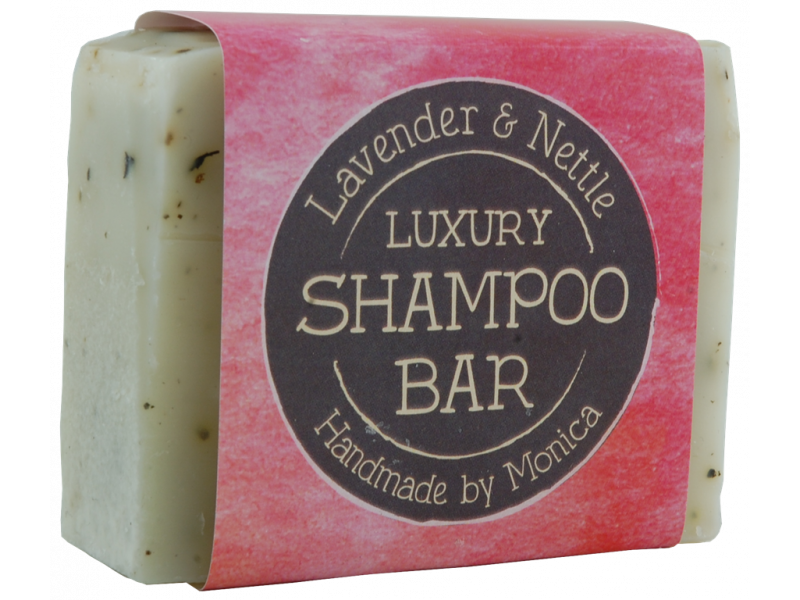 Nettle and Lavender Shampoo Bar for dry hair