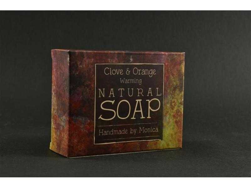 Natural Handmade Soap Clove n Orange