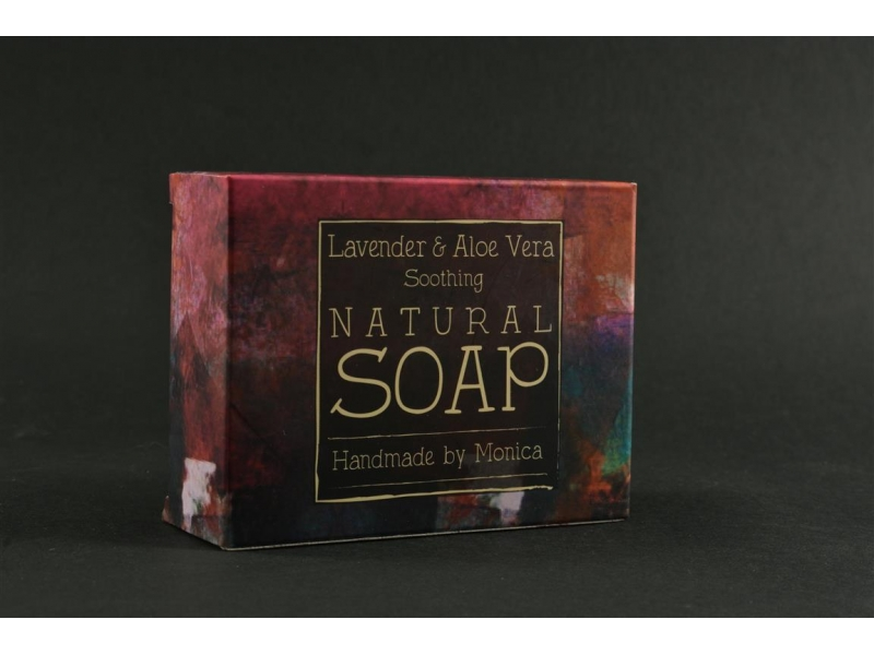 Natural Handmade Soap Lavender n Aloe Vera.